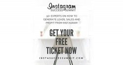 Insta Success Summit Sponsored by Designhill