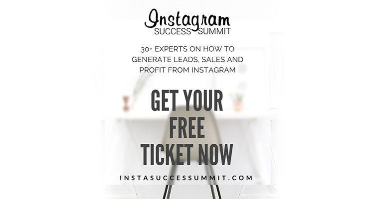 Insta Success Summit Sponsored by Designhill