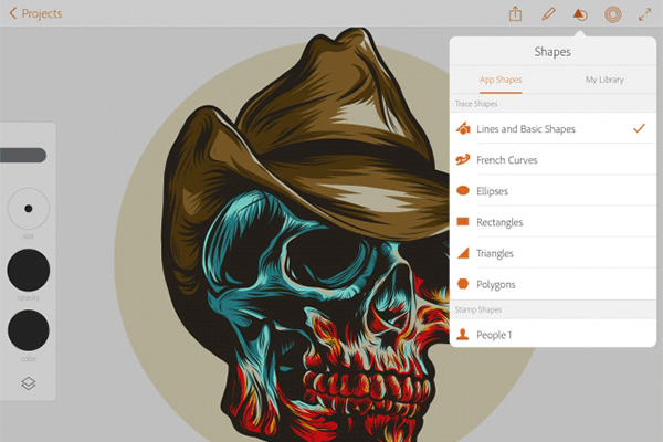 Adobe Illustrator Draw Mobile App