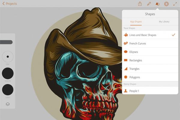 Adobe Illustrator Draw Mobile App