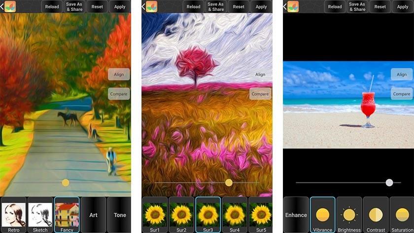 Bonfire Photo Editor - Photo Editing App