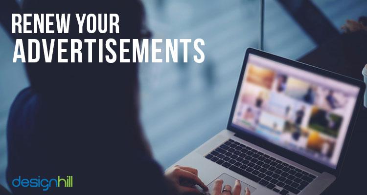 Renew Your Advertisements