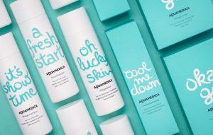 Custom Lettering - Packaging Design Trends