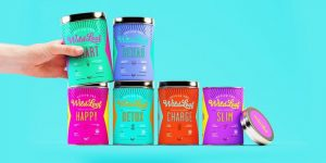 Splashing Colors - Packaging Design Trends