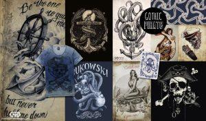 Gothic T-Shirt design