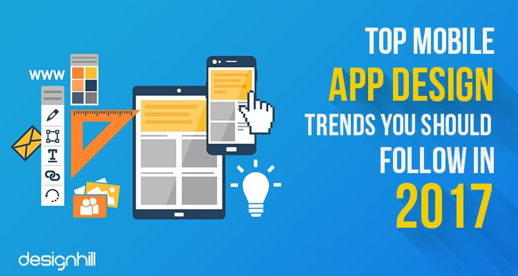 Mobile app design trends