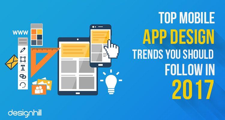 Mobile app design trends