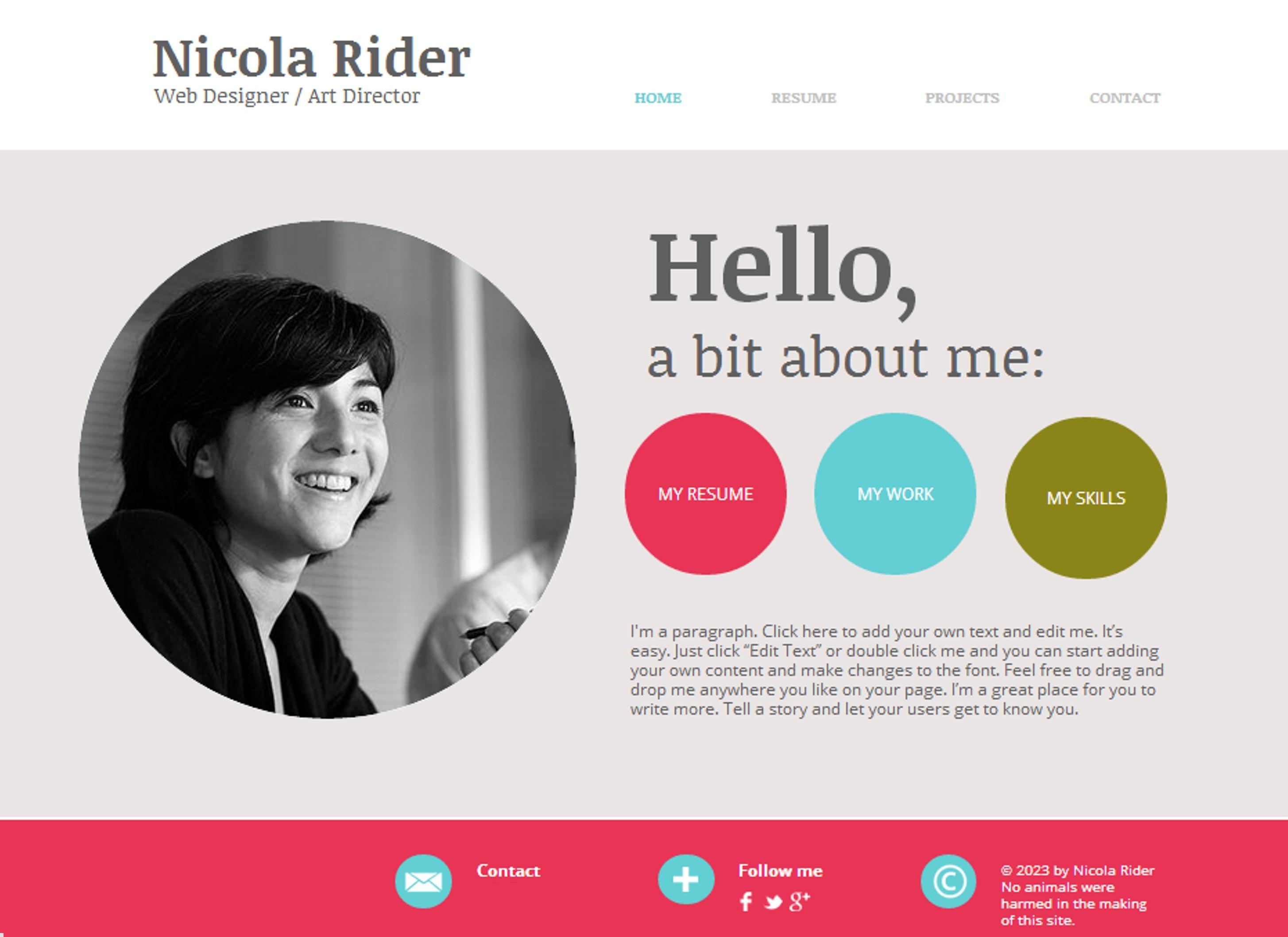 Graphic Designers bio