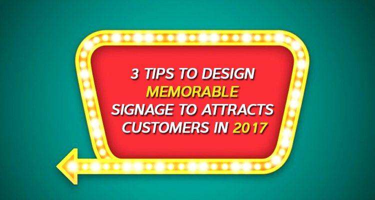 Signage design trends