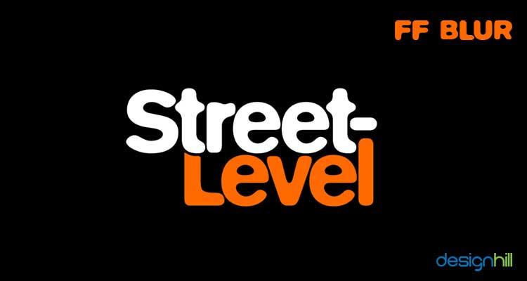 FF Blur logo font