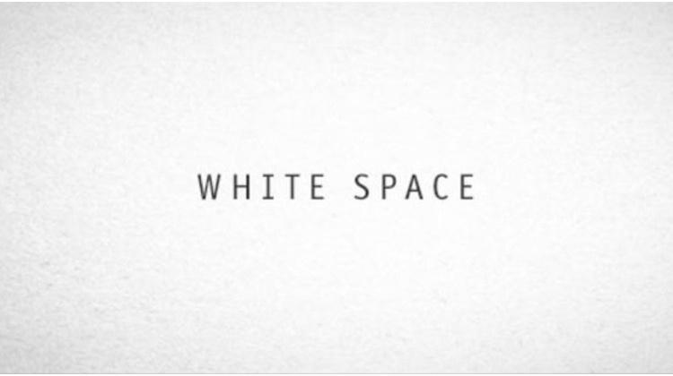 Use of White Space