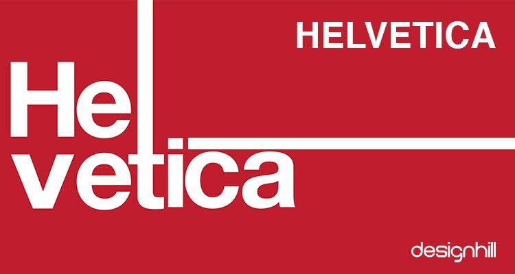 Helvetica logo Font