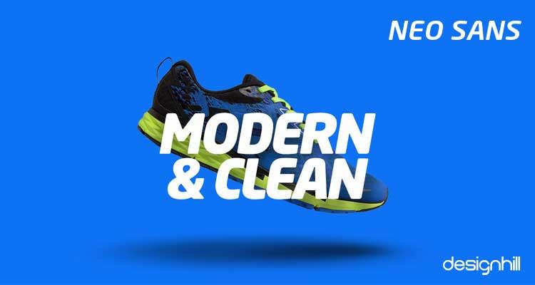 Neo Sans logo font