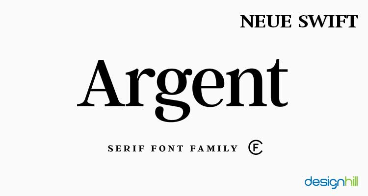 Neue Swift logo font