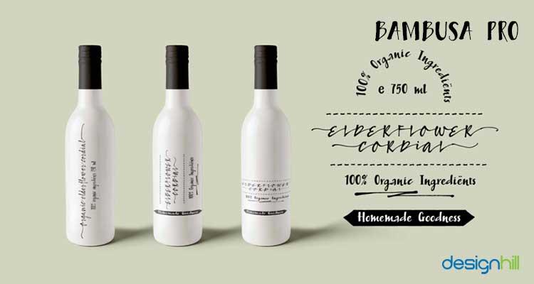 Bambusa Pro logo font