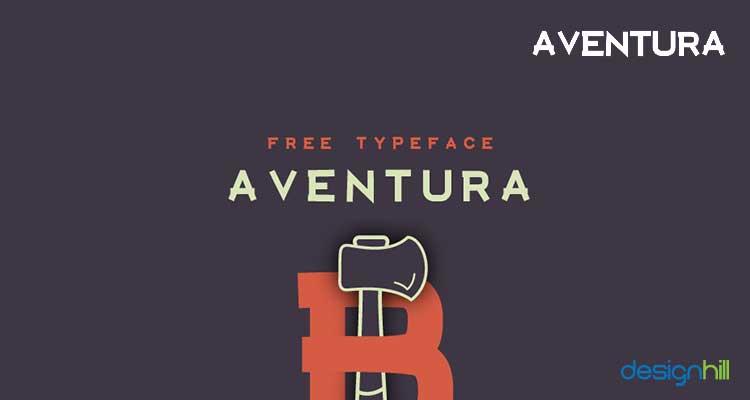 Aventura logo font