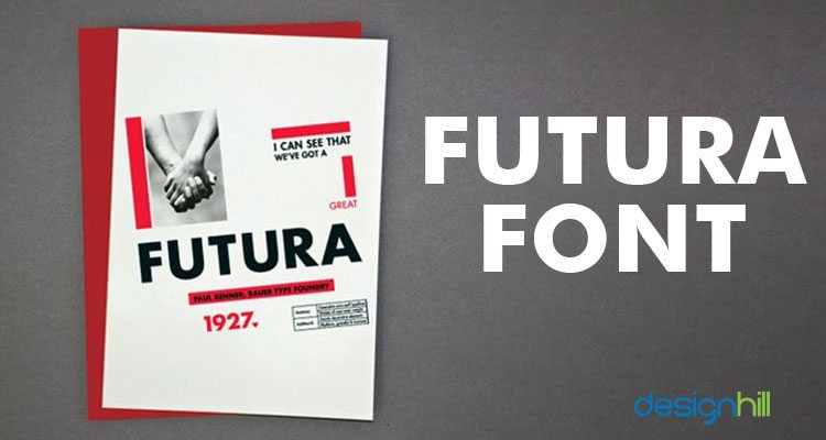 Futura logo font
