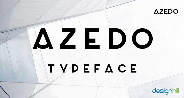Azedo logo font
