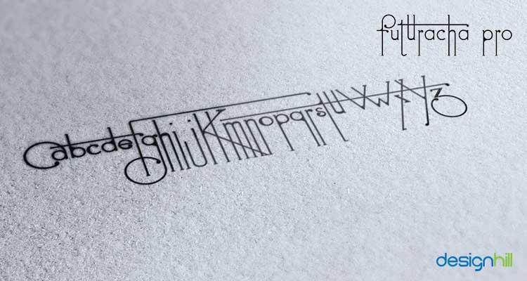 Futuracha logo font