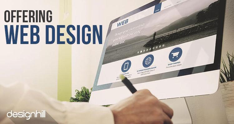 Offering Web Design