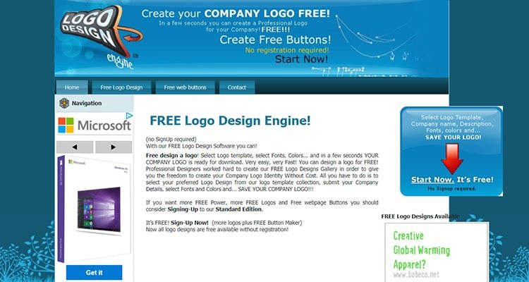 Free Logo Design Engine