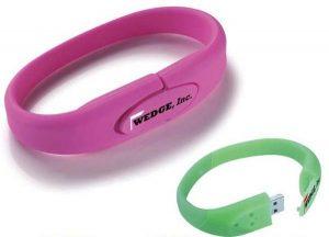 Flash Drive Bracelet as promotional product