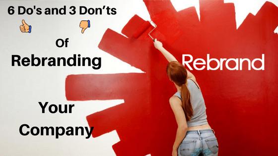 Rebranding Your Compan
