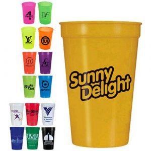 Smooth stadium cups