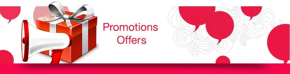 Promotions offers