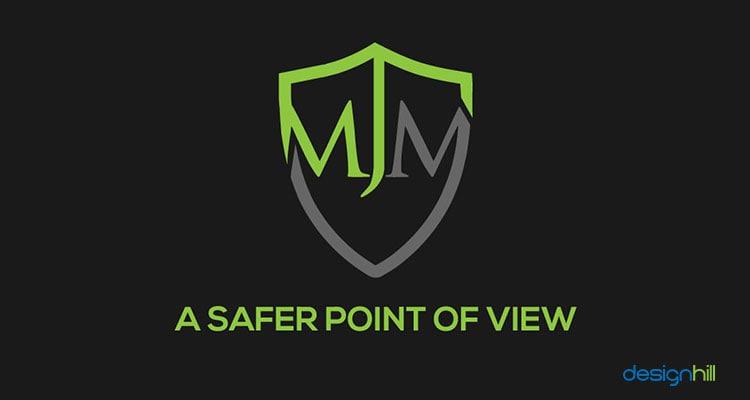 MJM logo design