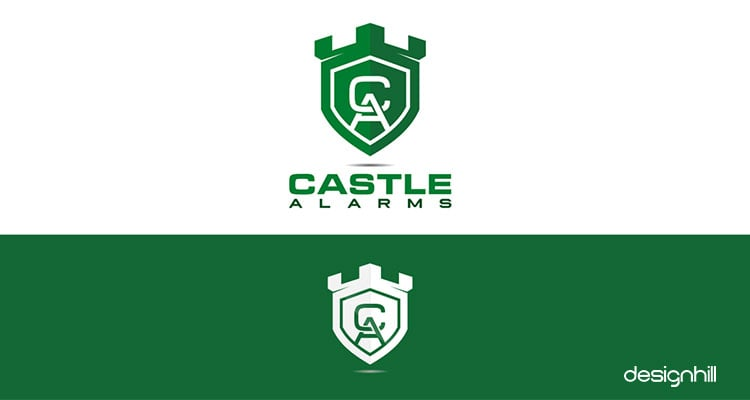 Castle logo design