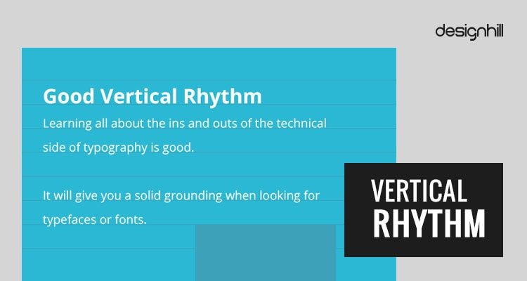 Good Vertical Rhythm