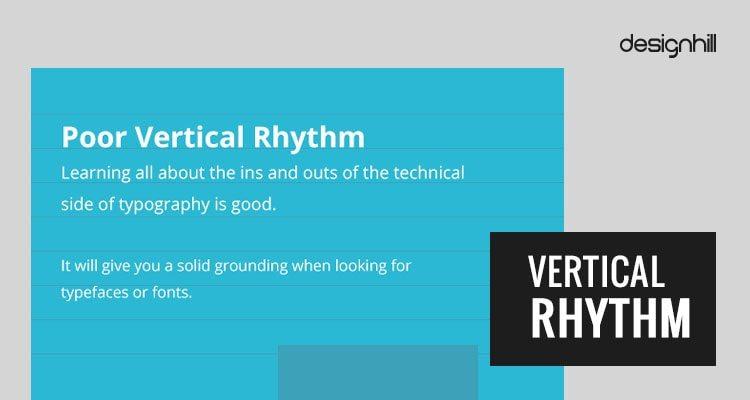 typographic rhythm