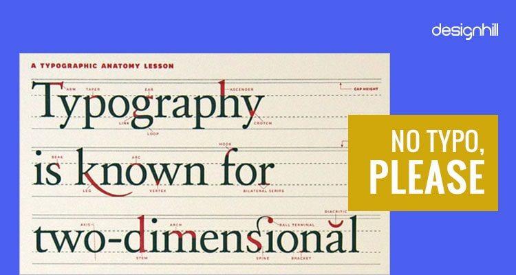 Typographic faux