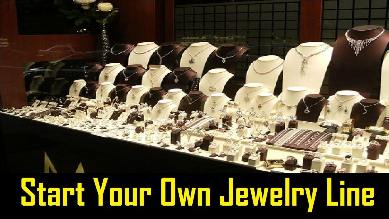 how to start your own jewelry line business designhill