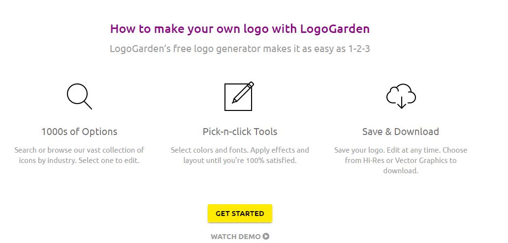 Logo Garden