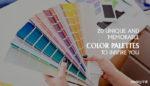 Memorable Color Palettes