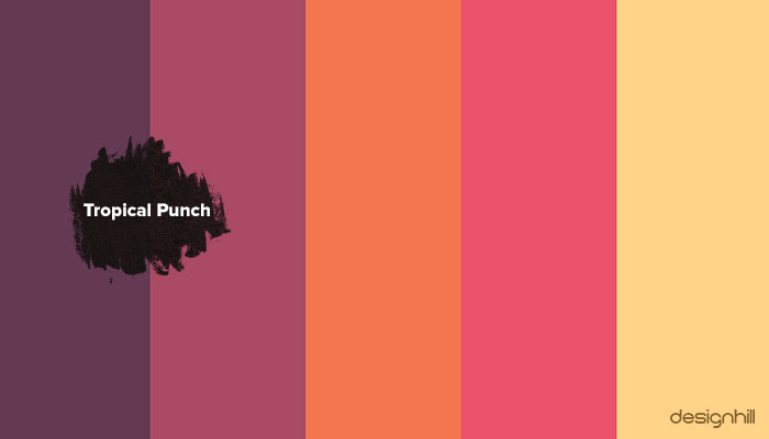 Tropical Punch Colors