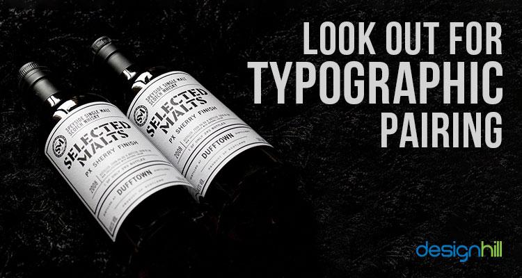 Typographic Pairing