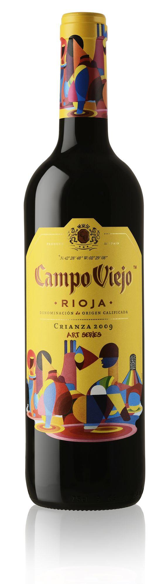 Campo Viejo wine label