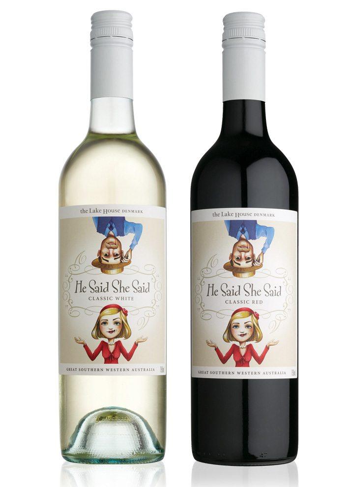 digital wine label