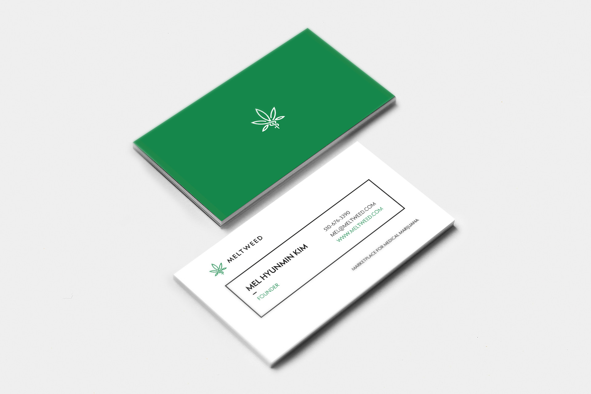 Top 10 things you need to know when starting a marijuana business business card colourmoves