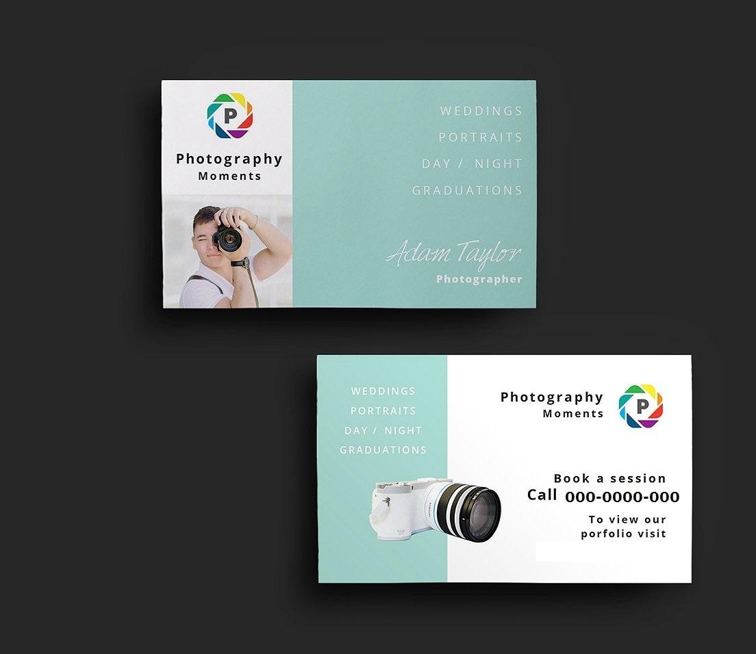 13 things you need to start a photography business business card colourmoves
