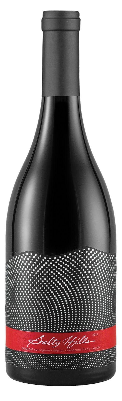 dot wine label design