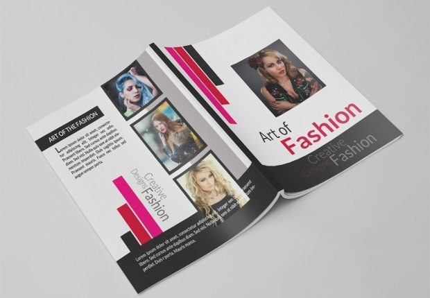 fashion broucher