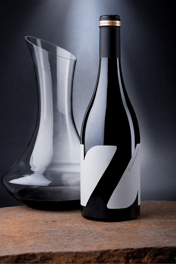 zwine label design
