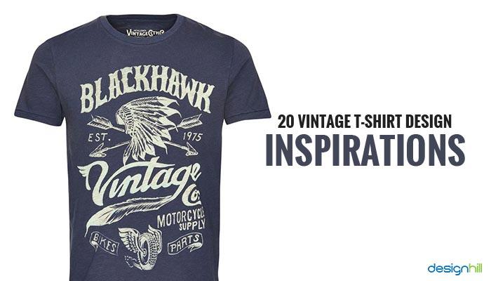 Top 20 Vintage T-shirt Design Inspirations LE48