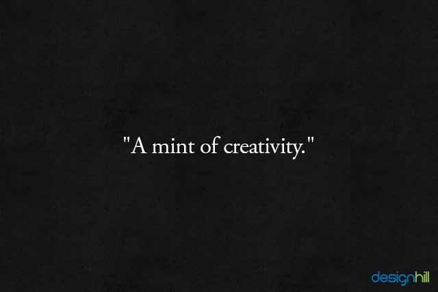 A mint
