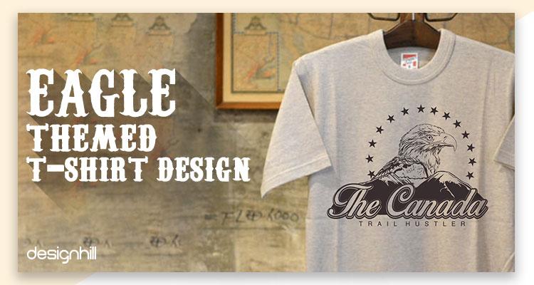 Eagle Themed T-Shirt