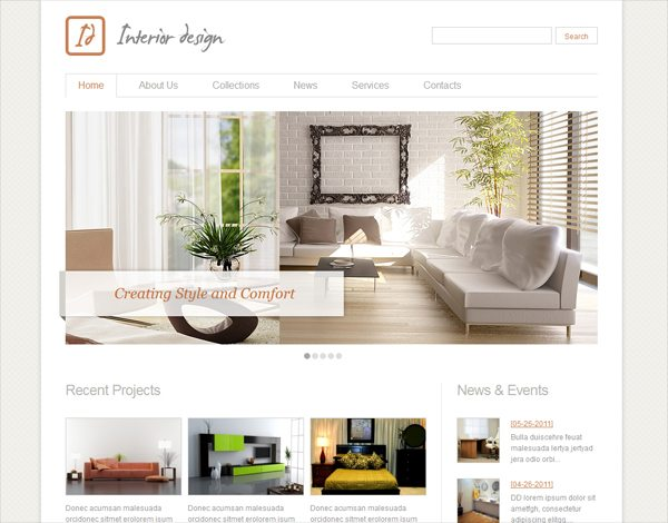 10 steps to launch your interior design business for Interior decorating websites